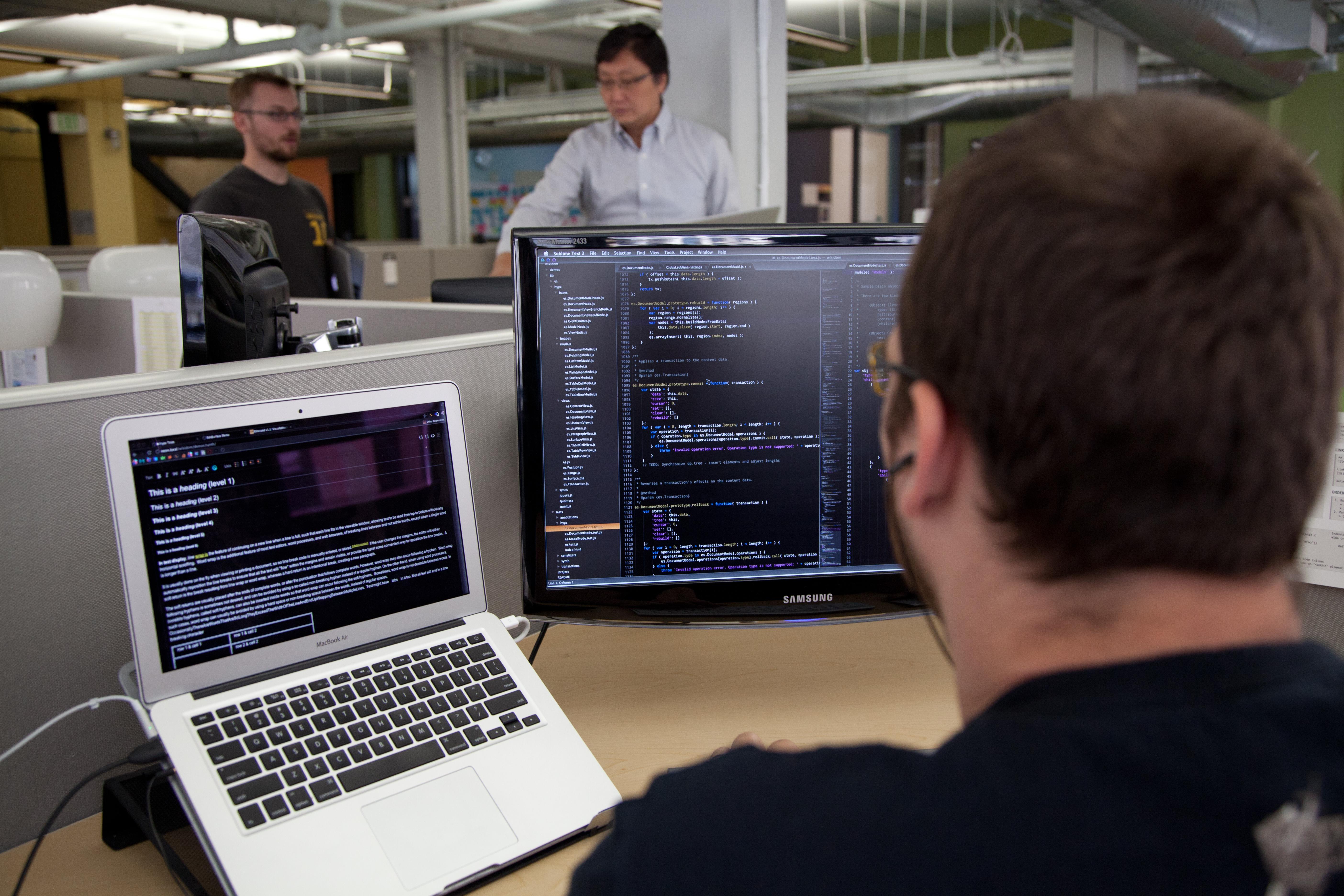 computer programmeur