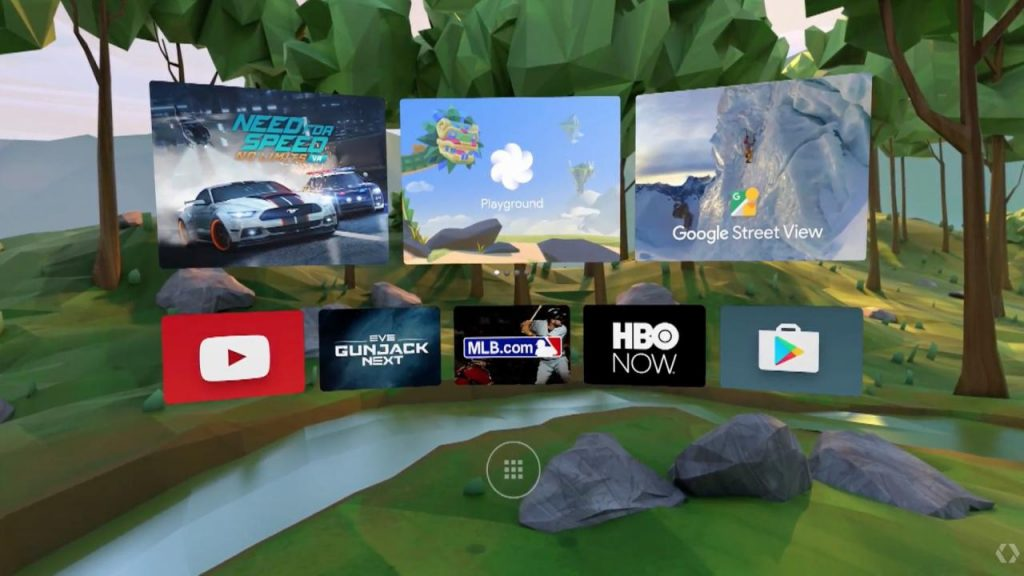 Google IO Daydream Virtual Reality Bril