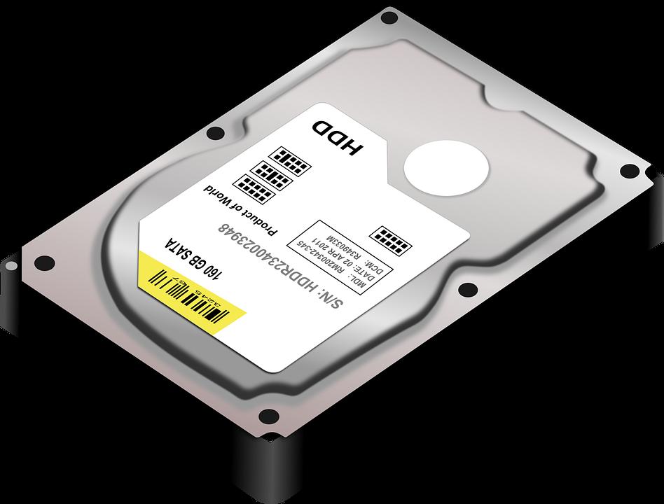 hard disk vervangen voor ssd