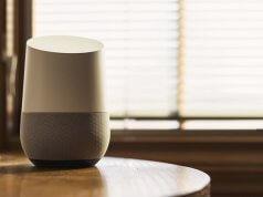 google home op tafel