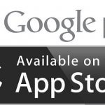 play store en app store logo