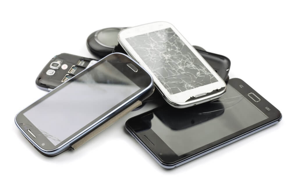 Mobiele telefoon recyclen