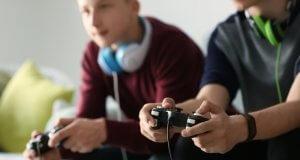 Gamen met vrienden