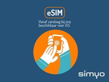 Deze telefoons ondersteunen de eSIM