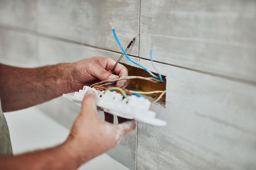 Elektro aanleggen in huis