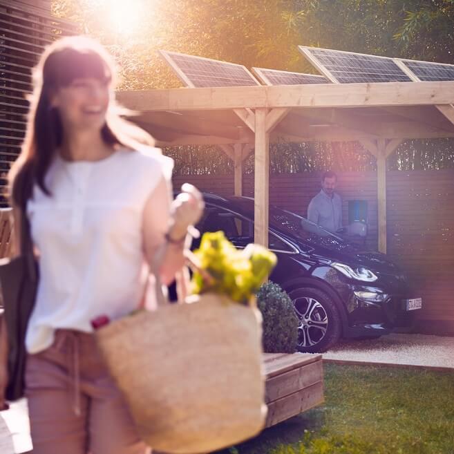 Elektrische auto thuis opladen
