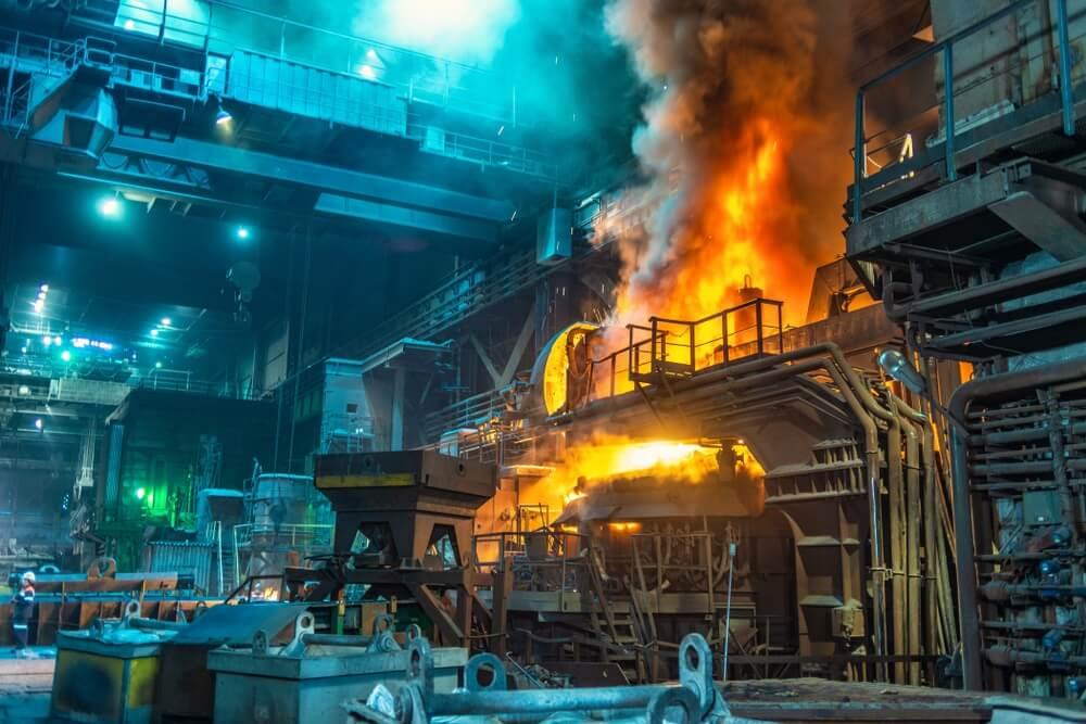Vooral in de industriële sector