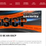 Offensive Security Certified Professional Certificaat