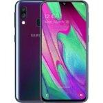 Samsung Galaxy A40 – 64GB – Zwart